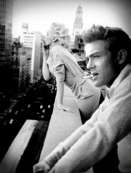 Marylin a James Dean
